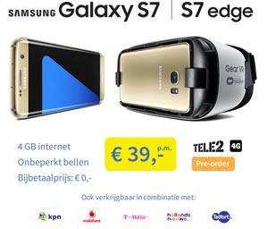 Galaxy s7 edge super actie aanbieding