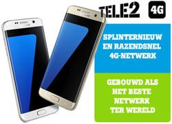 Galaxy S7 en S7 Edge werken uitstekend met Tele2 abonnementen