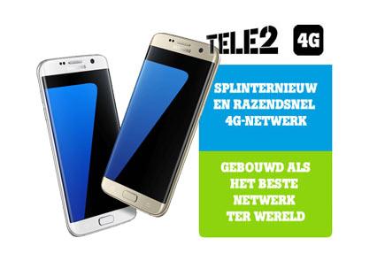 Tele2 4G abonnement uitstekend met S7 en S7 Edge