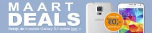 Beste Galaxy s5 maart toestel aanbiedingen