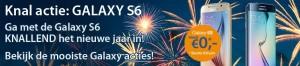 Galaxy s6 knal nieuwjaar actie