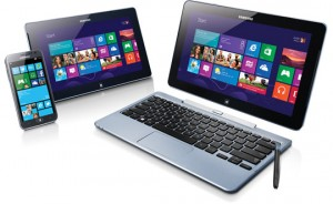 Windows Phone 8 telefoon, tablet, laptop en desktop