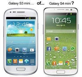 Samsung Galaxy S3 mini of de S4 mini?